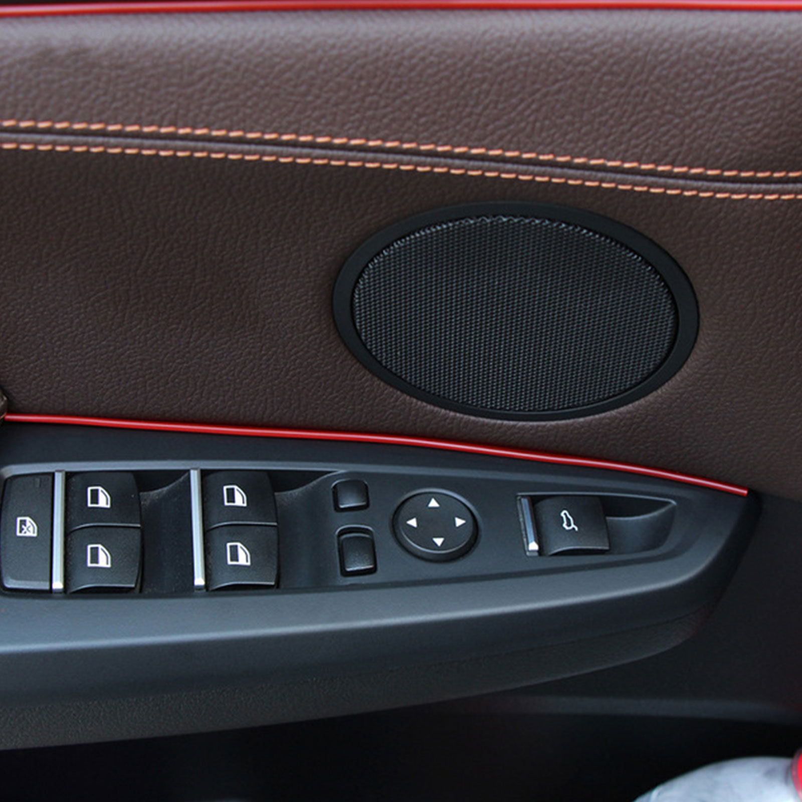 5M-Door-Gap-Trim-Molding-Moulding-Line-Edge-Strip-Red-For-Car-Interior-Accessory thumbnail 3