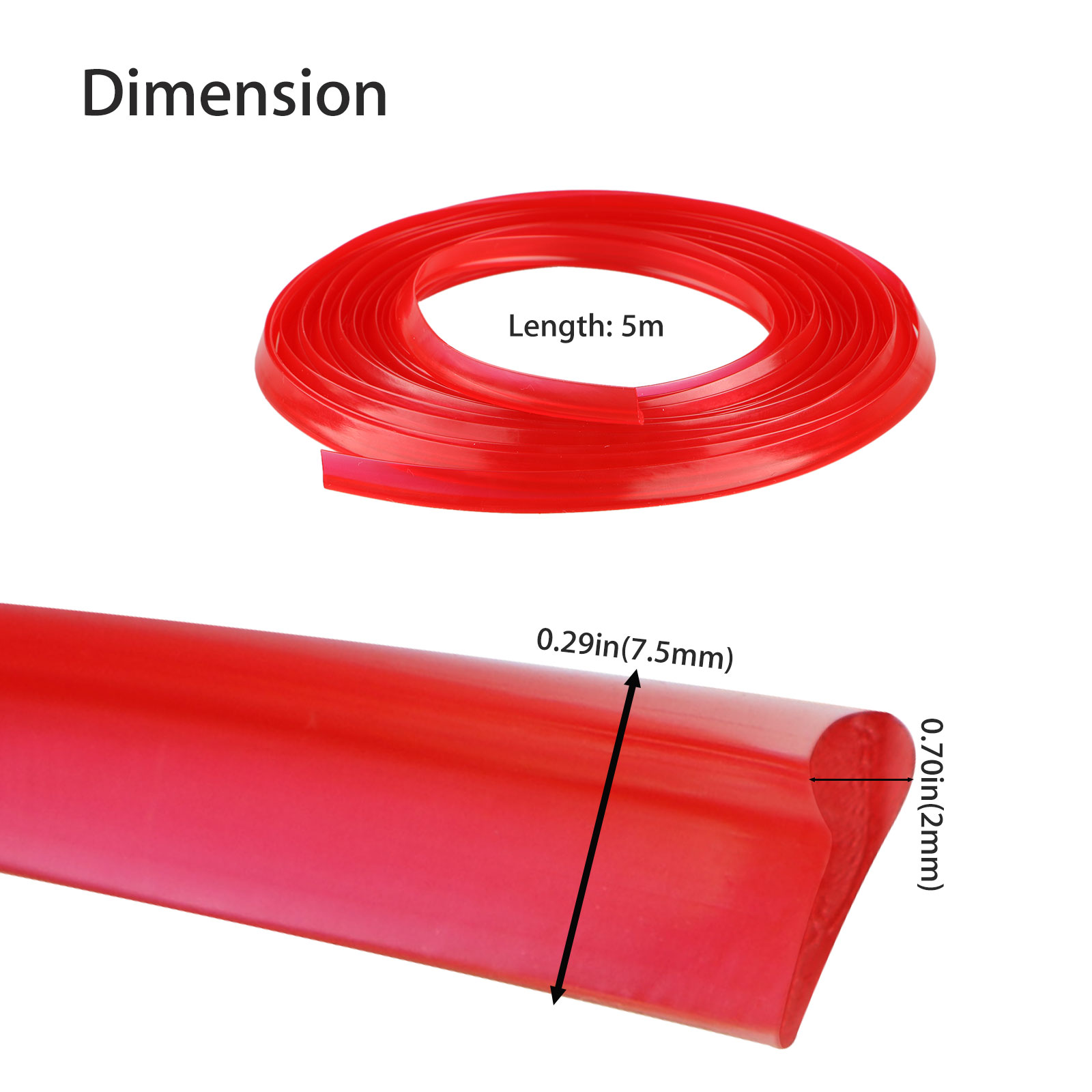 5M-Door-Gap-Trim-Molding-Moulding-Line-Edge-Strip-Red-For-Car-Interior-Accessory thumbnail 8
