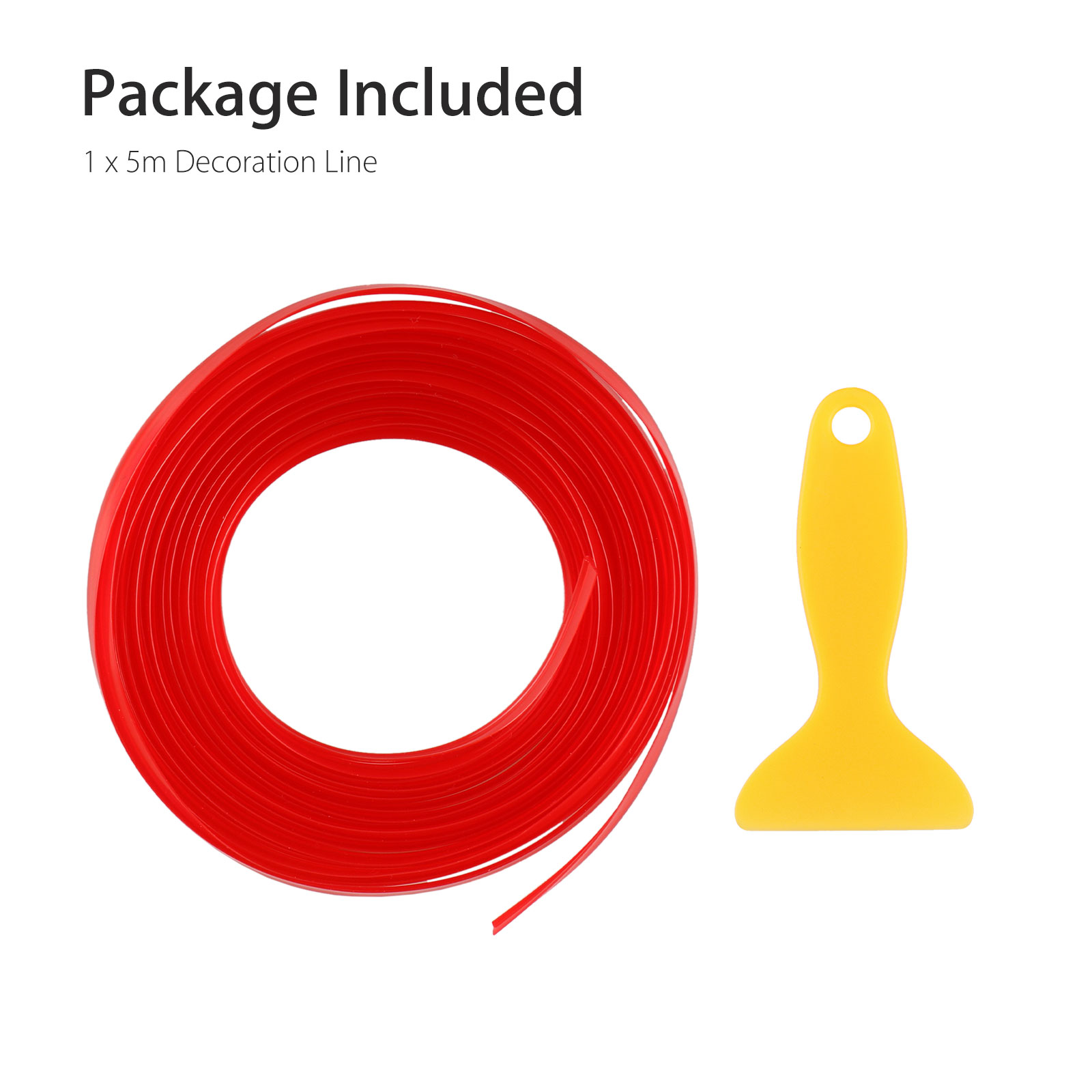 5M-Door-Gap-Trim-Molding-Moulding-Line-Edge-Strip-Red-For-Car-Interior-Accessory thumbnail 9