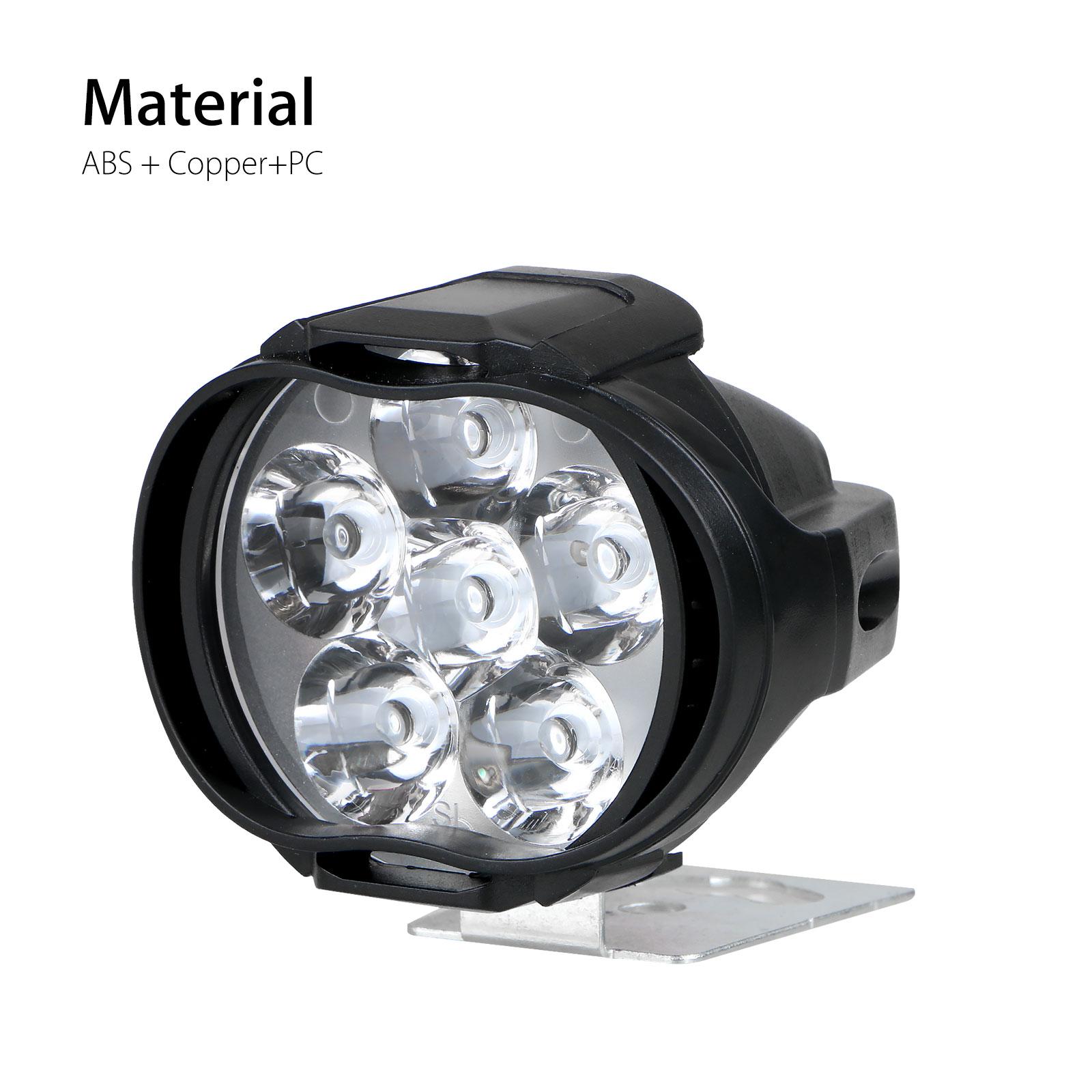2Pcs-Universal-Car-SUV-Motorcycle-LED-Waterproof-Lights-Fog-Light-Headlight-Lamp thumbnail 2