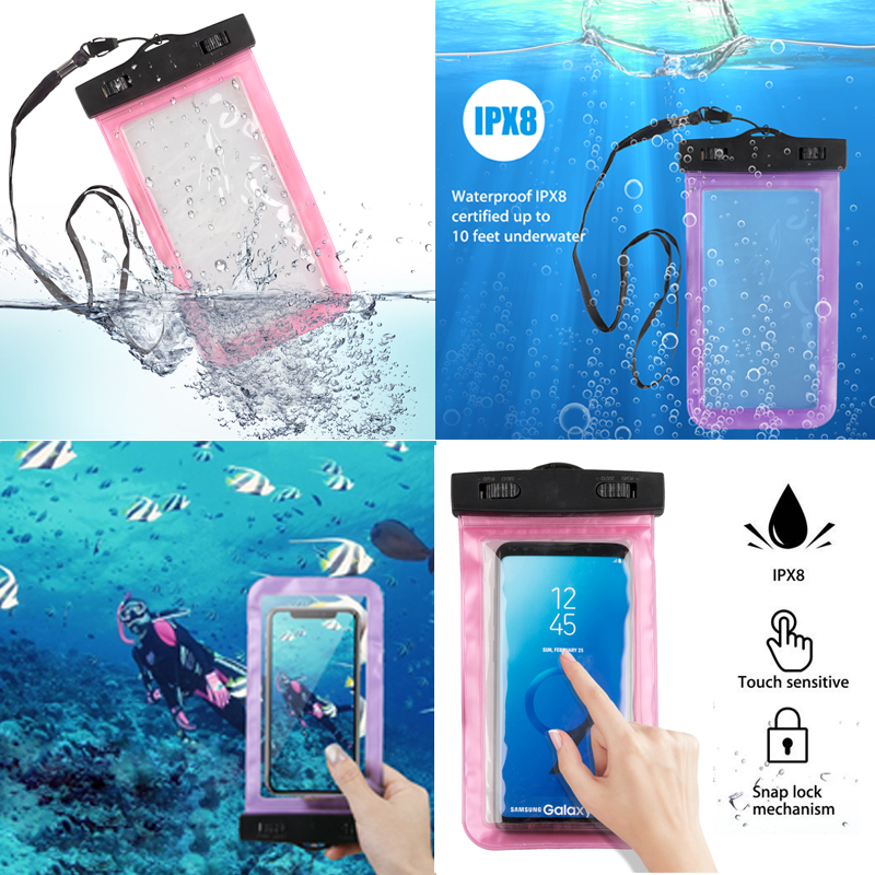 Waterproof-Bag-Underwater-Pouch-Dry-Case-Cover-For-iPhone-Cell-Phone-Samsung