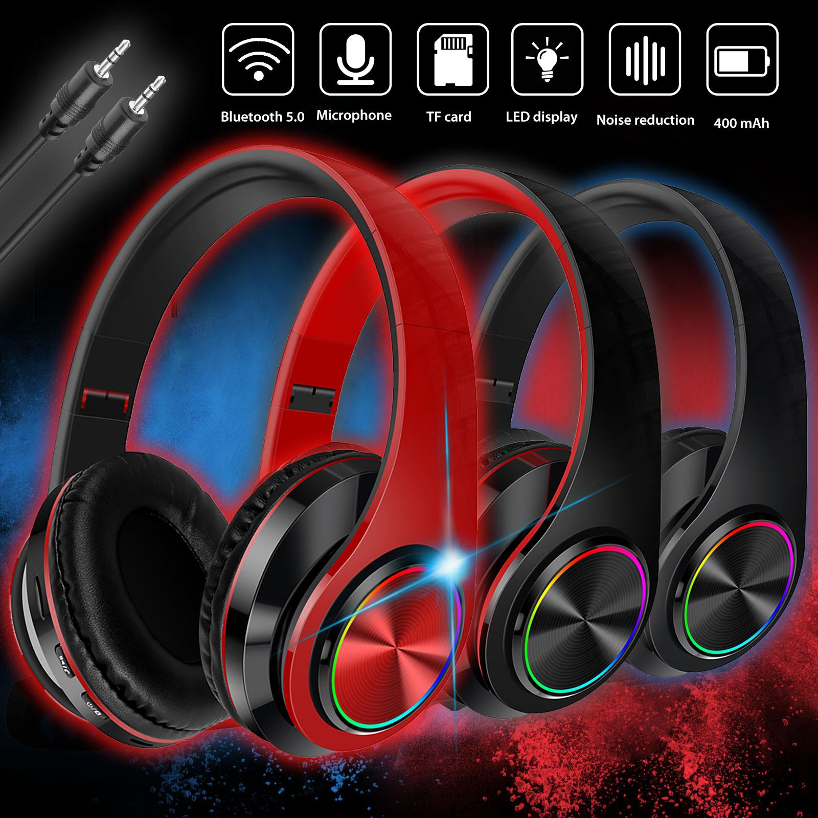 Wireless Noise Cancelling Headphone HIFI Bluetooth Earphone